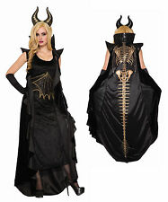 Womens Wicked Dragon Costume Deluxe Evil Queen Cosplay Size Standard