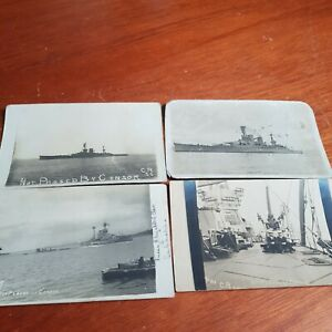 37 WW1 Naval Postcards Not Passed By Censor