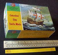 1960s Pyro USA Columbus' Ship Santa Maria of 1492. Sealed Bag. (774)