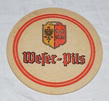 Alter Bierdeckel ABF MINDENER FELDSCHLÖßCHEN Weser Pils