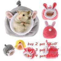 Mini Nest Hamster House Warm Pad Guinea Pig Mat Small Animal Sleeping Bed