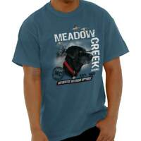 Meadow Creek Outdoor Hunting Hiking Gear Short Sleeve T-Shirt Tees Tshirts