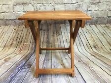 Vintage Wooden Folding Chair Stool Table Outdoor Camping Fishing Conair Corp.
