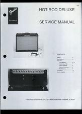 Nice Copy Fender Hot Rod Deluxe Guitar Amplifier Parts List & Schematic(s)