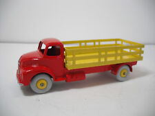 VINTAGE DINKY SUPERTOYS MECCANO.#531G LEYLAND COMET STAKE TRUCK RESTORED TO NM
