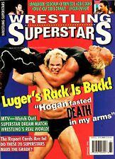 Wrestling Superstars Magazine Spring 1996 Issue Lex Luger Cover
