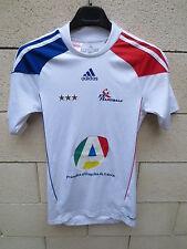Maillot handball FRANCE ADIDAS féminine stock pro Formotion blanc shirt XS