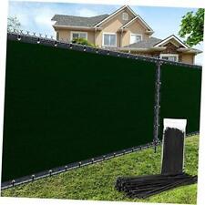 6'×50' Privacy Fence Screen Windscreen Heavy Duty Fence 6'x50' Dark Green