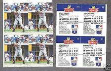 1993 Humpty Dumpty Twins' Kirby Puckett Proof Uncut (4)