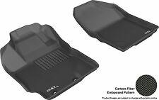 3D Anti-Skid Front Fits Yaris 2012-2015 GTCA22525 Black Waterproof Auto Parts Pe