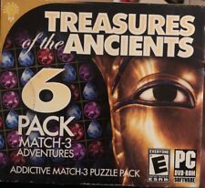 On Hand Treasures of the Ancients - Puzzle Bejeweled  PC Game - New