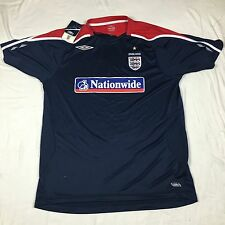 NWT Umbro England Nationwide Football Soccer Jersey XL National Patch 2008