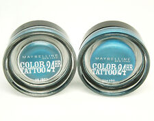2 X Maybelline Color Tattoo 24 HR 20 Turquoise Forever