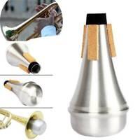 Alloy Trumpet Mute Straight Practice Accessories Beginner For Jazz Instrument