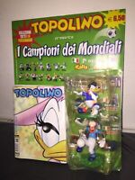 TOPOLINO n° 2639 +2 Personaggi Campioni Mondiali 7° Uscita GADGET SIGILLATO 2006