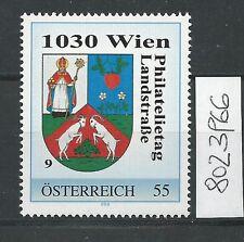 Österreich PM personalisierte Marke Philatelietag 1030 WIEN 8023966 **
