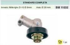 COPPIA CONICA DECESPUGLIATORE standard COMPLETA PER ASTA Ø 28 MILLERIGHE 8mm
