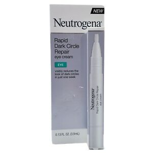 Neutrogena Rapid Dark Circle Repair Eye Cream Pen 0.13 fl oz Nourishes Brightens
