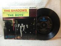The Shadows – 'The Boys' EP 1962 Columbia SEG 8193