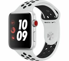 APPLE Watch Nike+ Series 3 GPS+Cellular 42 mm Silver & Pure Platinum/Black