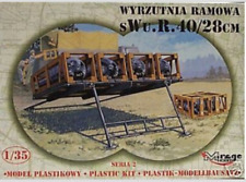 Mirage 1/35 Rocket Launcher Model Kit SWG40 NIB