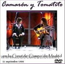 Camarón y Tomatito en la Casa de Campo de Madrid (DVD)