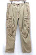 mens khaki LEVIS cargo pants relaxed classic cotton 34 x 29