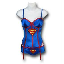 DC Supergirl New Corset and Panty Set Costume