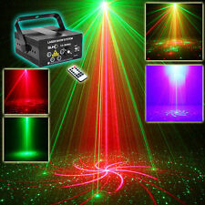 SUNY 5 Len Red Green Laser Stage Light Blue LED DJ Show Xmas Event Party Z80RGRG