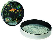REMO 16 Inch Ocean Drum Pre Tuned With Fish Graphic