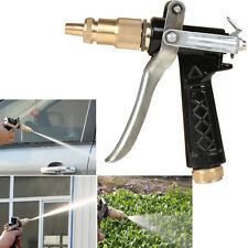 Metal High Pressure Hand Sprayer Brass Head Metal Hose Nozzle Water Gun Sprayer