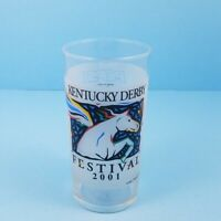 Kentucky Derby Festival 2001 Pegasus Mint Julep Beverage Drinking Glass Pepsi