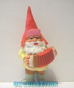 DAVID GNOMO CON FISARMONICA - personaggio in pvc alto 8 cm circa (15)