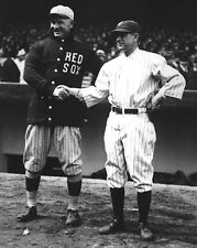 1923 Miller Huggins & Frank Chance Glossy 8x10 Photo @ Yankees Stadium Opener!