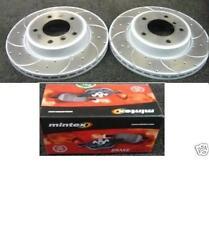 BMW Z3 3.0 Z4 2.5Si 3.0 E85 Disco De Freno Delantero Perforados Ranurado Mintex Almohadillas