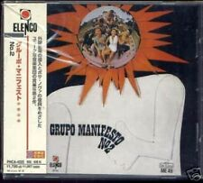 GRUPO MANIFESTO NO. 2 1968 JAPAN ONLY CD w/obi