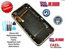 *NEW* Back Cover Housing with Bezel Power & Mute Switch FOR iPhone 3GS 8GB WHITE