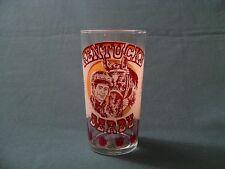 1977 Official Ky Kentucky Derby Mint Julep Glass Horse Racing Churchill Downs