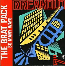"""THE BRAT PACK so many ways USA646 uk breakout 1988 7"""" PS EX/EX"""