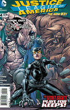 Justice League of America #4 Tyler Kirkham Catwoman Variant Cover