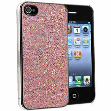 Pink Glitter Case Cover For The Apple Iphone 4