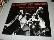 "THE FUZZTONES AND SCREAMIN' JAY HAWKINS - LIVE - MIDNIGHT RECORDS - 1985 - 12"" -"