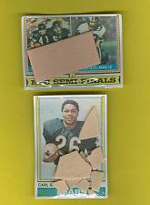 1974 Topps Cello 2 Football Mini Fun Bag Packs NFL Semi-Finals(ONE OF KIND RARE!