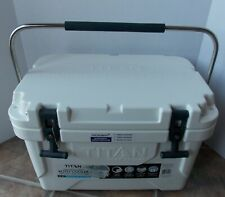 Titan Deep Freeze 20 Qt Roto Cooler with Handle ~ NEW White Microban