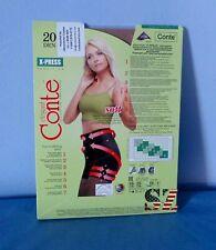 CONTE X-PRESS Soft pantyhose ~20 DEN~Beige~Size 3=M ~ ORIGINAL