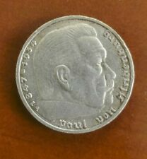 GERMANY SILVER COIN , 5 MARK , 1936