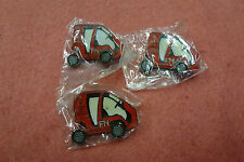 "3 x Fraser Nash ""Red Car"" Pins Sydney 2000 Olympic Games"