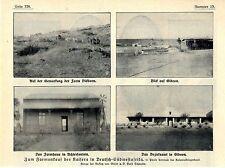 Achterfontein Farm Dickdorn des Deutschen Kaisers in Deutsch- Südwestafrika 1912