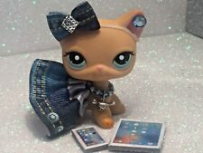 Littlest Pet Shop Clothes Accessories LPS Custom Denim Skirt Outfit NO CAT/DOG