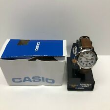 Casio Solar Leather Band Watch Model MTP-S100